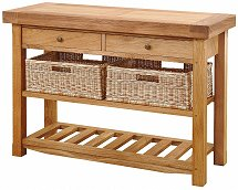 Vale Furnishers - Bordeaux Double Basket Table